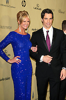 LOS ANGELES - JAN 13:  Nancy O'Dell, Rob Marciano arrives at the 2013 Weinstein Post Golden Globe Party at Beverly Hilton Hotel on January 13, 2013 in Beverly Hills, CA..