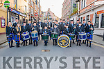 Killorglin & District Pipe Band celebrated launch of their official uniforms with parade through town last Saturday.