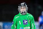 Uppsala 2013-11-20 Bandy Elitserien IK Sirius - Edsbyns IF :  <br /> Edsbyn m&aring;lvakt Erik Persson <br /> (Foto: Kenta J&ouml;nsson) Nyckelord:  portr&auml;tt portrait