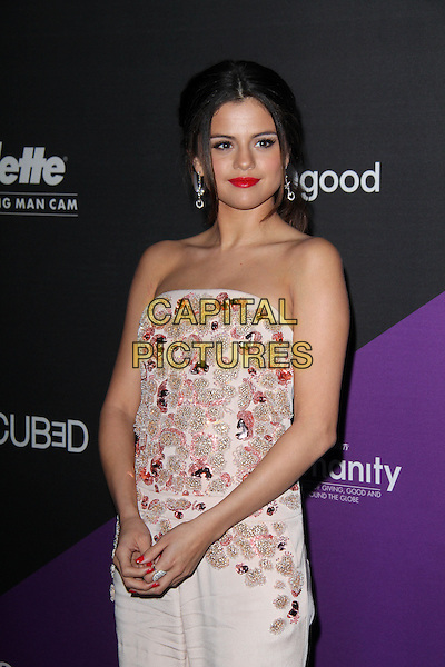 CULVER CITY, CA - February 27: Selena Gomez at the unite4:good and Variety present unite4:humanity, Sony Studios, Culver City,  February 27, 2014. <br /> CAP/MPI/JO<br /> &copy;Janice Ogata/MediaPunch/Capital Pictures