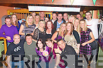 Richie's bar,Rock St,Tralee was rock'in last Saturday night for Annette Roche(seated centre)of Spa Rd,Tralee,who celebrated her 30th birthday,last Saturday night.