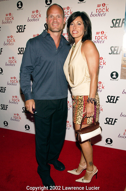 NEW YORK-AUGUST 13: New Jersey Devils captain Ken Daneyko and his wife Jonnalyn arrive at the party for SELF magazine's September feature and VH1's premiere of All Access: Rock Bodies August 13, 2002, at Eyebeam in New York City.