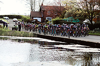Picture by SWpix.com - 03/05/2018 - Cycling - 2018 Asda Women's Tour de Yorkshire - Stage 1: Beverley to Doncaster - The peloton passes through Warter