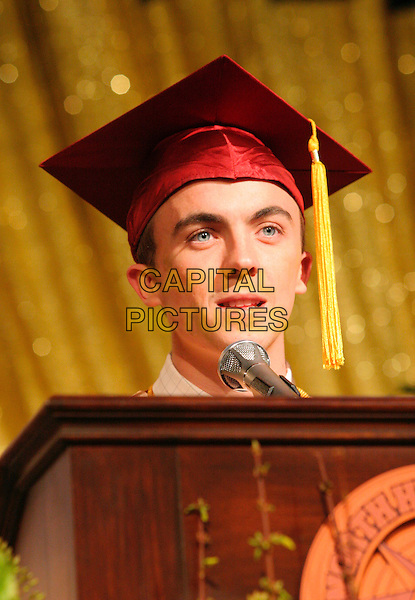 """FRANKIE MUNIZ .in Malcolm In The Middle.""""Graduation"""" .*Editorial Use Only*.Ref: FB.www.capitalpictures.com.sales@capitalpictures.com.Supplied by Capital Pictures."""