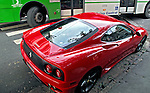 Automovel Ferrari. Foto de Manuel Lourenço.