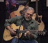 Jorma Koukenen demonstrating his new Martin Guitar model at the NAMM Show - January 14, 2010