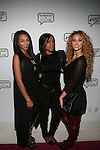 Recording Artist Melissa aka Pretti Scarlett, Multi Facet Inc. President Tresla Gilbreath and Model Lauren Wood aka Lolo Doom Attend Angela Simmons I Am Presentation Powered Monster at 404 During Mercedes-Benz Fashion Week Fall 2014 NY