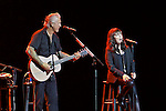 Singer-songwriter and four-time GRAMMY Award winner Pat Benatar celebrated her 35th anniversary tour with acoustic performances with her husband guitarist Neil Giraldo.