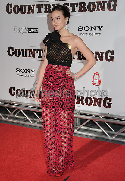 "08 November 2010 - Nashville, TN - Leighton Meester. ""Country Strong"" World Premiere held at the Green Hills Cinema. Photo Credit: Laura Farr/AdMedia"
