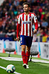 Saul Niguez of Atletico de Madrid during La Liga match between Atletico de Madrid and RCD Espanyol at Wanda Metropolitano Stadium in Madrid, Spain. November 10, 2019. (ALTERPHOTOS/A. Perez Meca)