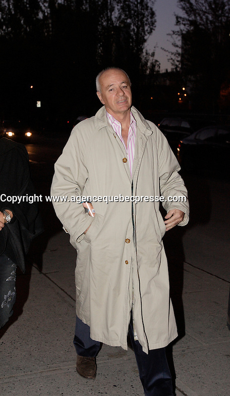 Montreal (Qc) CANADA, November 1st 2007-<br /> Didier Farre at the CINEMANIA 2007 film festival<br /> - North American premiere of CEUX QUI RESTENT<br /> <br /> photo : Pierre Roussel (c)  Images Distribution