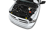 Car Stock 2016 Ram 1500 Express Express 4 Door Pickup Engine  high angle detail view