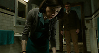 The Shape of Water (2017) <br /> Sally Hawkins &amp; Richard Jenkins<br /> *Filmstill - Editorial Use Only*<br /> CAP/MFS<br /> Image supplied by Capital Pictures
