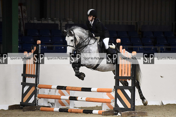 Jumping competitions. Blair Wallace-Stocks clinic. Brook Farm Training Centre. Stapleford Abbots. Essex. UK. 19/11/2016. ~ MANDATORY CREDIT Melody Fisher/Sport in Pictures - NO UNAUTHORISED USE - +447837 394578