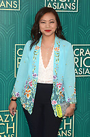 HOLLYWOOD, CA - AUGUST 7: Adele Lim at the premiere of Crazy Rich Asians at the TCL Chinese Theater in Hollywood, California on August 7, 2018. <br /> CAP/MPI/DE<br /> &copy;DE//MPI/Capital Pictures