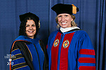 HDR/VIP Portraits - 2017 Commencement - College of Communication and College of Computing and Digital Media: Salma Ghanem, dean of the College of Communication and Marty Wilke, broadcast television executive and DePaul alumna. (DePaul University/Jamie Moncrief)