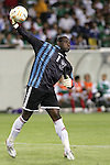 21 June 2007:  Guadeloupe goalkeeper Franck Grandel. The National Team of Mexico defeated Guadeloupe 1-0  in a CONCACAF Gold Cup Semifinal match at Soldier Field in Chicago, Illinois.