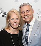Daryl Roth and David Monn attends the Opening Night Performance of 'The Beast In The Jungle' at The Vineyard Theatre on May 23, 2018 in New York City.