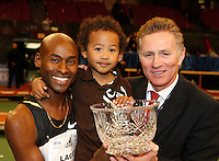 Bernard Lagat, Miika, Eamonn Coghlan, The Chairman of the Boards, The Wanamaker Mile, 102nd. Millrose Games, Errol Anderson, The Sporting Image.