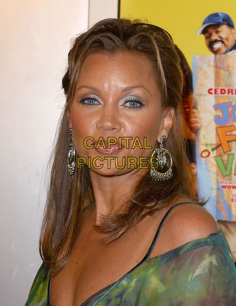 VANESSA WILLIAMS.World Premiere of Johnson Family Vacation held at The Cinerama Dome in Hollywood, California .31 March 2004.*UK Sales Only*.portrait, headshot, big earrings.www.capitalpictures.com.sales@capitalpictures.com.©Capital Pictures.