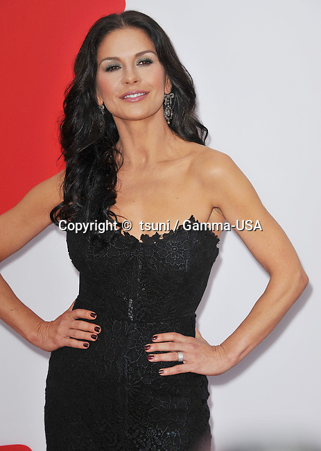 Catherine Zeta-Jones  at the RED 2 Premiere at the Westwood Village Theatre In Los Angeles.