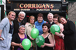 Hannah Finlay, Rory Conway, Olive Smith, Petra Conway, Joe McArdle, Catriona Dillon, Alison Coates, Mary Finlay and Anne Fogarty at the Charity Music Night in Aid of the Samaritans in Corrigans...Photo NEWSFILE/Jenny Matthews.(Photo credit should read Jenny Matthews/NEWSFILE)....This Picture has been sent you under the condtions enclosed by:.Newsfile Ltd..The Studio,.Millmount Abbey,.Drogheda,.Co Meath..Ireland..Tel: +353(0)41-9871240.Fax: +353(0)41-9871260.GSM: +353(0)86-2500958.email: pictures@newsfile.ie.www.newsfile.ie.FTP: 193.120.102.198.