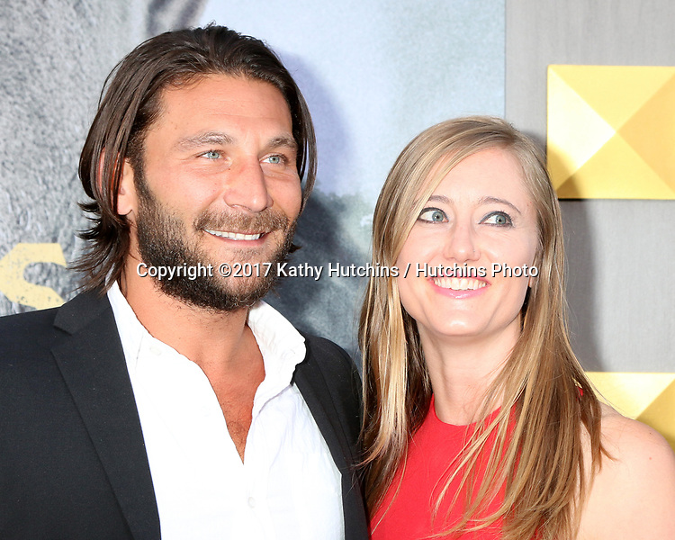 "LOS ANGELES - MAY 8:  Zach McGowan, Emily Johnson at the ""King Arthur Legend of the Sword"" World Premiere on the TCL Chinese Theater IMAX on May 8, 2017 in Los Angeles, CA"