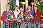 HAMPERS: Prizewinners at Ballybunion Golf Club on Saturday were l-r: Podge O'Reilly, Mary Pierse and Aisling Boyle. Also photographed were Helen McEnery (Lady President) and Marian Flannery (Lady Captain)..   Copyright Kerry's Eye 2008