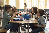 Wonder (2017)<br /> Noah Jupe as &quot;Jack Will,&quot; Elle McKinnon as &quot;Charlotte,&quot; Mille Davis as &quot;Summer&quot; and Jacob Tremblay as &quot;Auggie&quot;<br /> *Filmstill - Editorial Use Only*<br /> CAP/KFS<br /> Image supplied by Capital Pictures