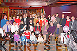 BABY JOY: Proud parents Maria and John McCannon, Clonmore, Tralee (seated 2nd & 3rd left) of little Nicole who was Christened by Fr Gerard Finnucane at St John's Church, Tralee and celebrated afterwards with family and friends at the Meadowlands hotel, Tralee on Sunday.