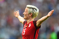 Carson, CA - Thursday August 03, 2017: Megan Rapinoe during a 2017 Tournament of Nations match between the women's national teams of the United States (USA) and Japan (JPN) at the StubHub Center.
