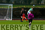 Action from the Kerry U19's v Bray Wanderers in the League of Ireland in Mounthawk Park on Sunday.