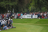 Tommy Fleetwood (ENG) hits his tee shot on 17 during round 4 of the World Golf Championships, Mexico, Club De Golf Chapultepec, Mexico City, Mexico. 2/24/2019.<br /> Picture: Golffile | Ken Murray<br /> <br /> <br /> All photo usage must carry mandatory copyright credit (© Golffile | Ken Murray)