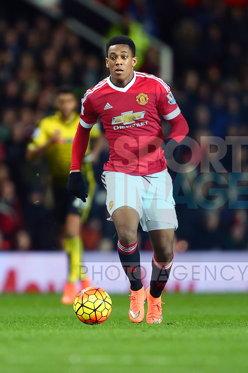 Anthony Martial of Manchester United - Barclay's Premier League - Manchester United vs Watford - Old Trafford - Manchester - 02/03/2016 Pic Philip Oldham/SportImage