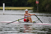 Race: 106  W.MasF.1x  Semi-Final<br /> 336  Durban Rowing Club, South Africa (Abraham)<br /> 339  Tideway Scullers School (Lawrence)<br /> <br /> <br /> Henley Masters Regatta 2018 - Friday<br /> <br /> To purchase this photo, or to see pricing information for Prints and Downloads, click the blue 'Add to Cart' button at the top-right of the page.