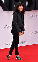 Claudia Winkleman at Jason Bourne UK film premiere,the fifth instalment in the Bourne franchise, at Odeon Leicester Square, London, England 11 July 2016.<br /> CAP/JOR<br /> &copy;JOR/Capital Pictures /MediaPunch ***NORTH AND SOUTH AMERICAS ONLY***