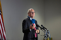 United States Senator Kevin Cramer (Republican of North Dakota) speaks to members of the media as he arrives to GOP policy luncheons on Capitol Hill in Washington D.C., U.S., on Tuesday, June 9, 2020.  Credit: Stefani Reynolds / CNP/AdMedia