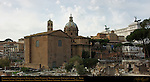 Temple of Saturn, Curia Julia, Santi Luca e Martina, Santa Maria in Aracoeli, Victor Emmanuel II Monument, Northwest Forum Romanum and Capitoline Hill Rome