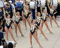 November 08, 2008: Pitt Golden Girls perform outside the stadium before the game. The Pitt Panthers defeated the Louisville Cardinals 41-7 on November 08, 2008 at Heinz Field, Pittsburgh, Pennsylvania.