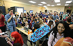 Hundreds of residents participate in the Carson City Boo-nanza on Wednesday, Oct. 25, 2017. <br /> Photo by Cathleen Allison/Nevada Momentum