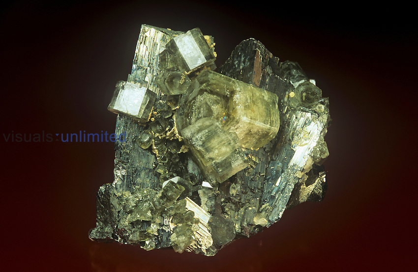 Arsenopyrite with Apatite, Portugal.