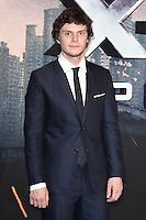 Evan Peters at a Global Fan Screening of &quot;X-Men Apocalypse&quot; at BFI IMAX, South Bank, London<br /> May 9, 2016  London, UK<br /> Picture: Steve Vas / Featureflash