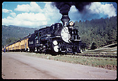 &quot;276-18 The &quot;Silverton&quot; leaving Rockwood, CO.&quot;<br /> D&amp;RGW  Rockwood, CO  Taken by Owen, Mac - 6/1975