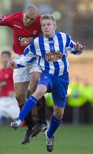 Steven Naismith, Kilmarnock.stock season 2004-2005.pic willie vass