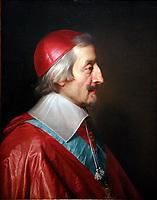 Le Cardinal de Richelieu<br />  en 1642