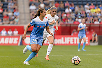 Bridgeview, IL - Sunday August 20, 2017: Danielle Colaprico during a regular season National Women's Soccer League (NWSL) match between the Chicago Red Stars and FC Kansas City at Toyota Park. KC Kansas City won 3-1.