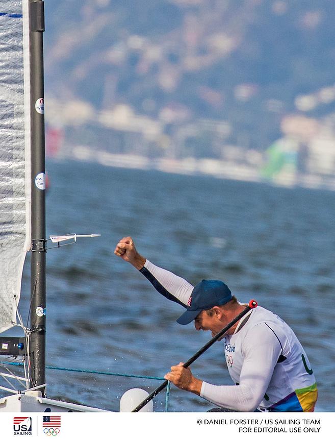 Finn USA Caleb Paine USACP65<br /> <br /> 2016 Olympic Games <br /> Rio de Janeiro