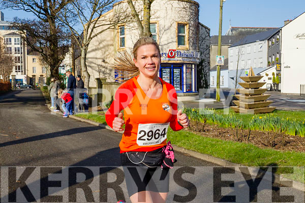 Dolores Duffy,  pictured at the Kerry's Eye Valentines Weekend 10 mile road race on Sunday.