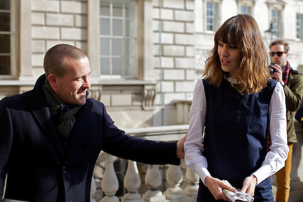 Scott Schuman from The Sartorialist and Alexa Chung