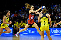 Tactix&rsquo; Jess Maclennan in action during the ANZ Premiership - Pulse v Tactix at TSB Arena, Wellington, New Zealand on Monday 14 May 2018.<br /> Photo by Masanori Udagawa. <br /> www.photowellington.photoshelter.com